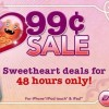 "Many EA titles are 99¢ again in a ""I love 99¢"" sale"