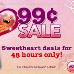 """Many EA titles are 99¢ again in a """"I love 99¢"""" sale"""