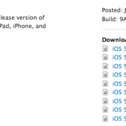 iOS 5 Beta Available to Developers