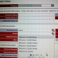 iPhone 4S Shows Up in Inventory