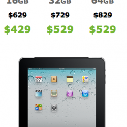 Apple Offering Original iPad for $200 Less